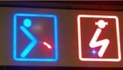 最形象的洗手间标识