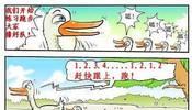 鸭子训练跑步