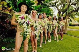 盘点全球十大奇葩婚礼 裸婚的真实写照!
