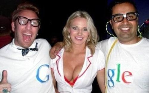 超搞笑,google香艳的另类广告