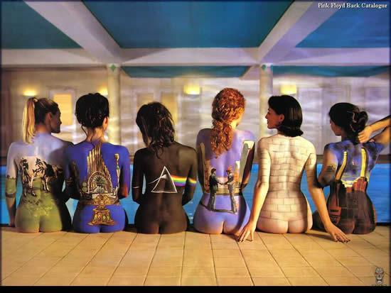 不同肤色的人体艺术