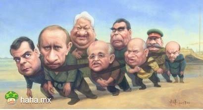 伏尔加河上的总统