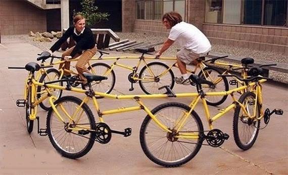 搞怪自行车