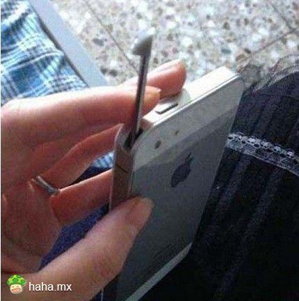 请教:我也托我的土豪朋友买了个iPhone5S,为啥和别人的不一样?
