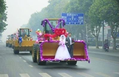 你见过这样豪华阵营的婚礼吗