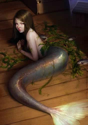 恐怖版美人鱼