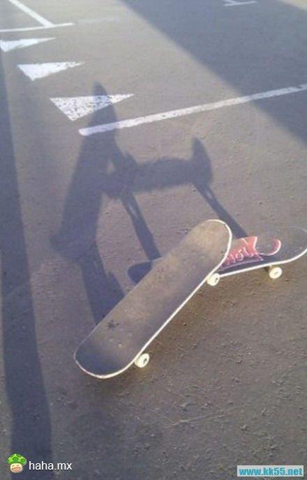 滑板很邪恶