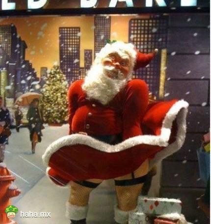 史上最销魂的圣诞老人