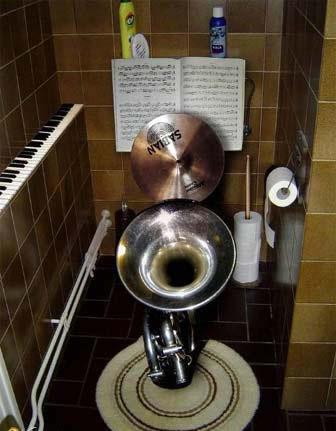 音乐家的马桶