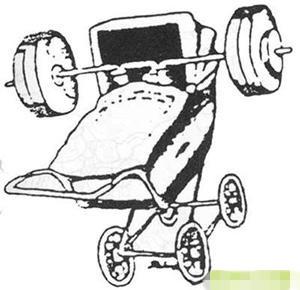 举重运动员的孩子