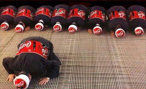 日本的可乐广告