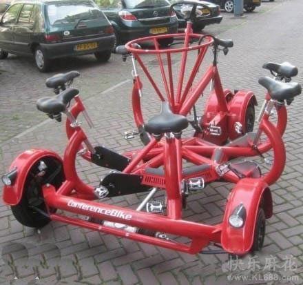 这个自行车,应该怎么骑呢