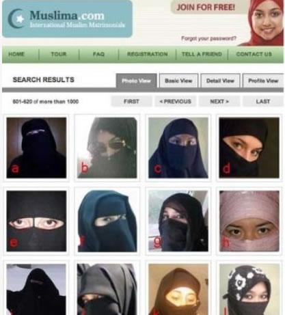 某阿拉伯国家的交友网站