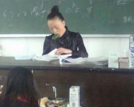 这老师也太彪悍了