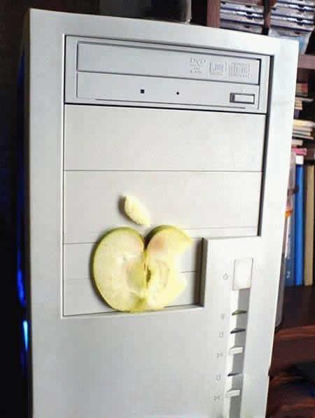 刚买的一台苹果电脑