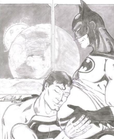 当超人与蝙蝠侠之间有了故事