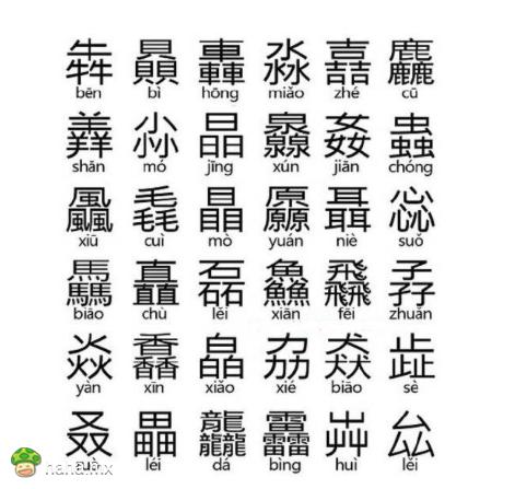 """涨知识!加强版""""三叠字"""",你会念吗?"""