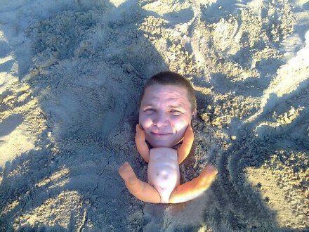 创意无限的海滩搞笑趣图