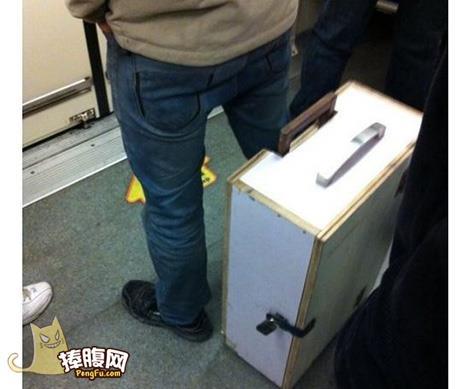 霸气侧漏的行李箱