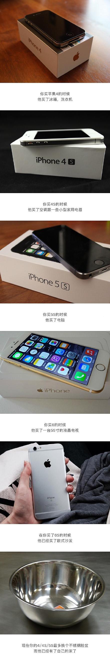 iphone带来了什么